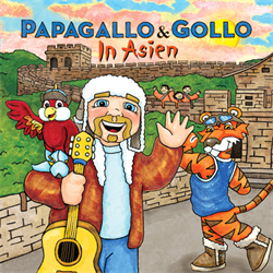 Papagallo & Gollo in Asien