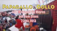 Live vom GrandPrix Migros